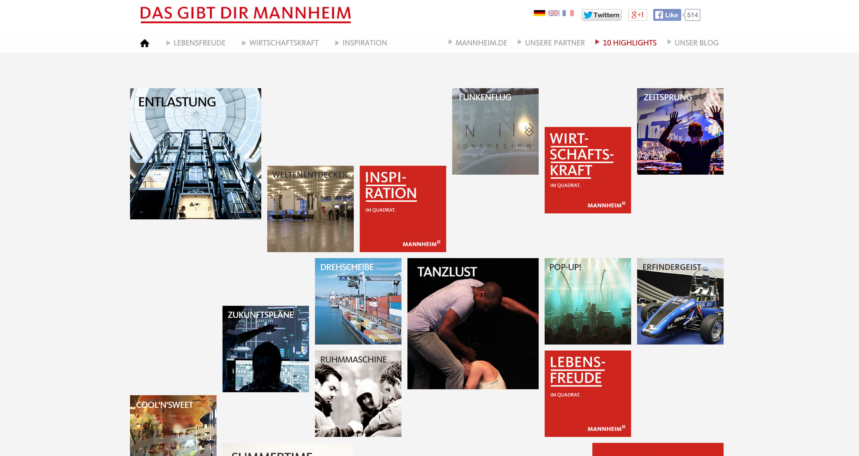 Mannheim   Das gibt Dir Mannheim
