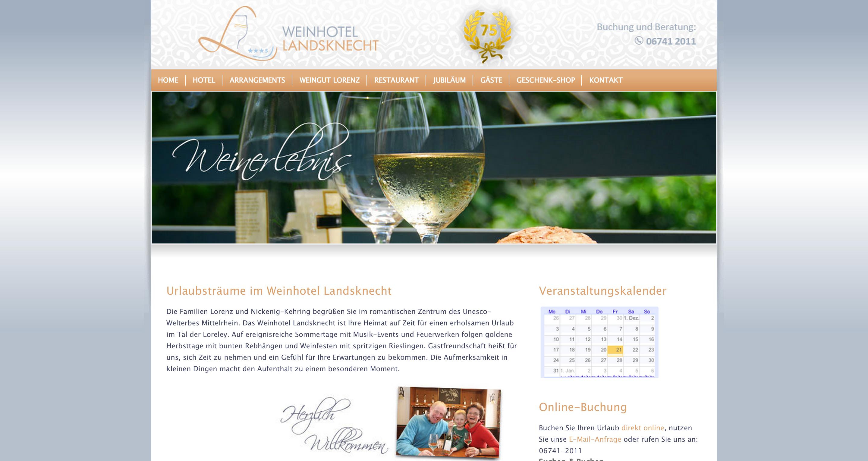 Urlaubsträume im Weinhotel Landsknecht